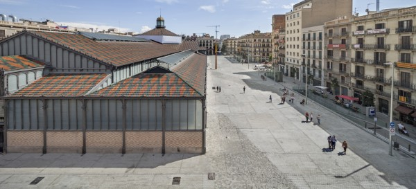 mercat del born-vora arquitectura