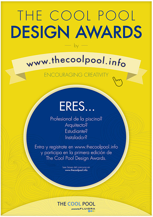 The Cool Pool Design Awards Poster