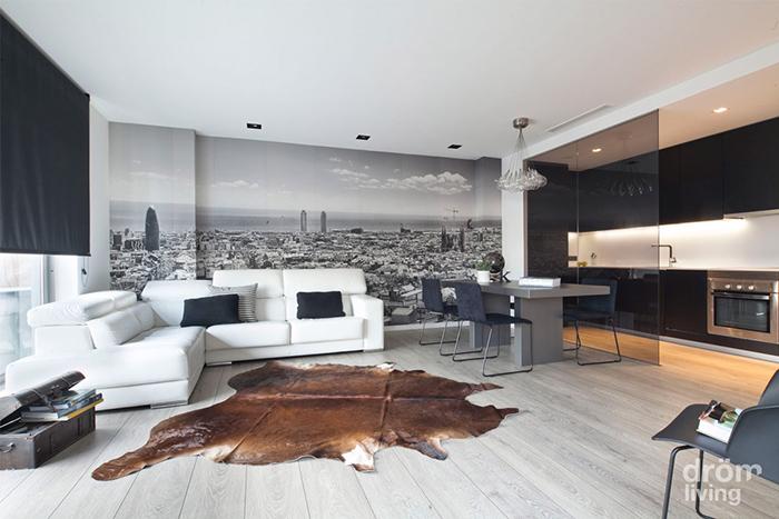 Tico minimalista y cosmopolita en barcelona bjc for Casa minimalista caracteristicas