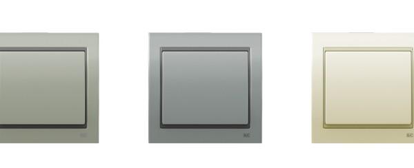 Iluminación general, interruptores para arquitectura de interiores