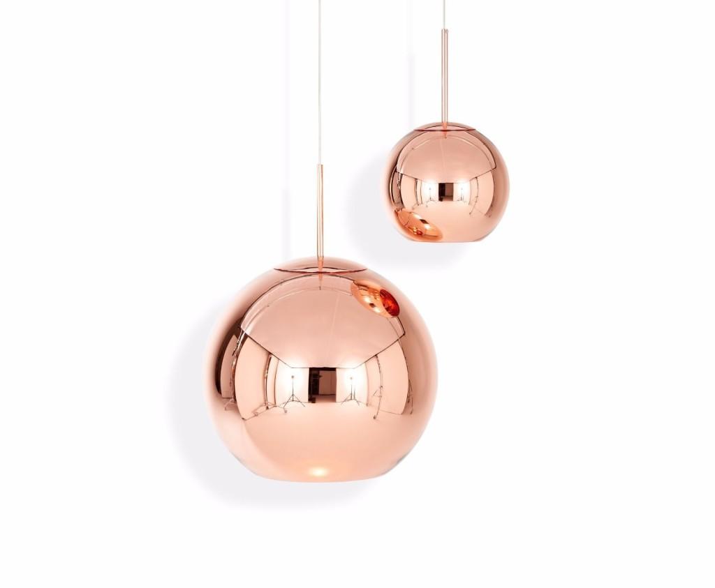 Lámparas de cobre, tendencia en decoración para 2017