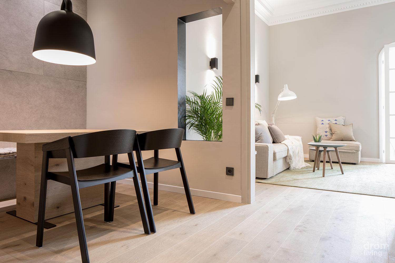 Geometría en blanco y negro, estilo nórdico para proyectos de interiorismo y decoración