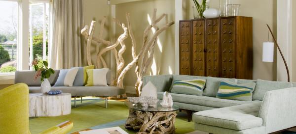 Mobiliario, cómo usar el color Greenery de Pantone en interiorismo y decoración