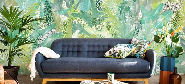 Cómo usar el color Greenery de Pantone en interiorismo y decoración. Fuente: Estilo y Deco