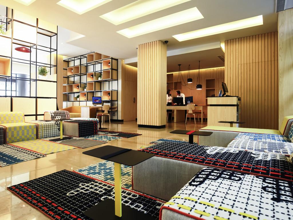 Arquitectura de interiores para hoteles, Novotel Madrid Sanchinarro