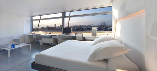Jean Nouvel, arquitectura de interiores para hoteles, Hotel Silken Puerta de América