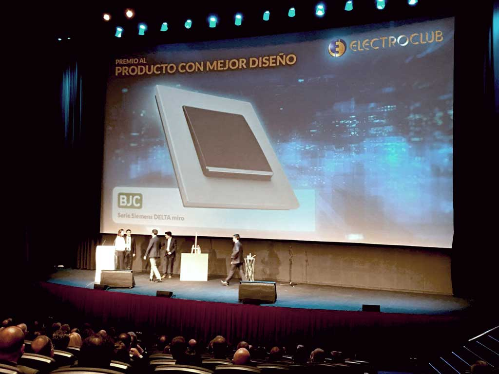 BJC ganadora de los premios Electroclub