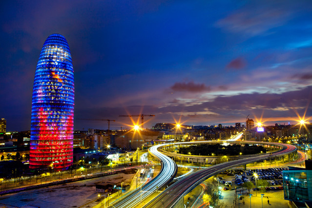 Ruta de arquitectura contempor nea en barcelona a trav s - Arquitectura barcelona ...