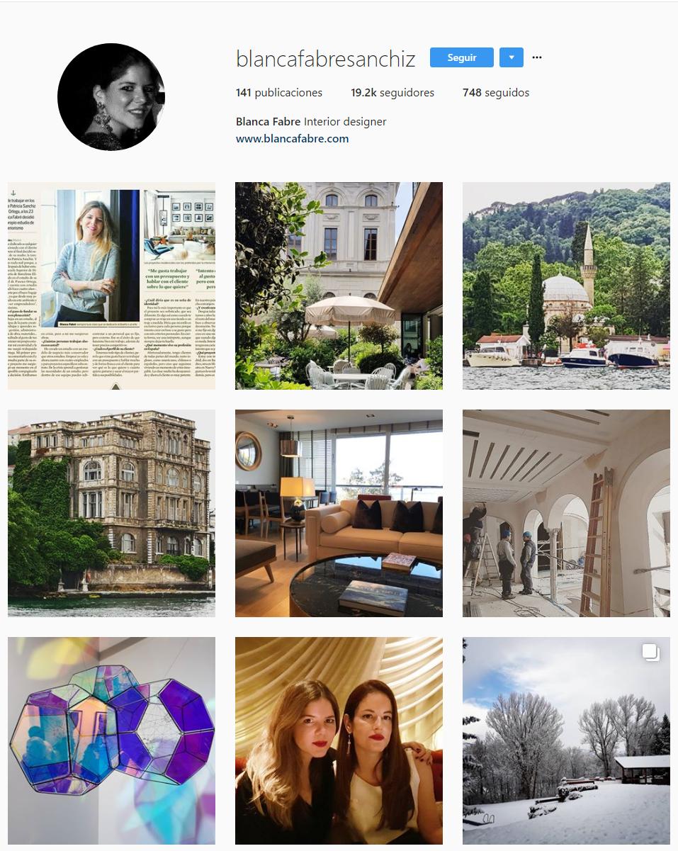 cuentas de Instagram sobre decoración