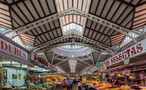 imagen destacada sobre mercados de abastos en España