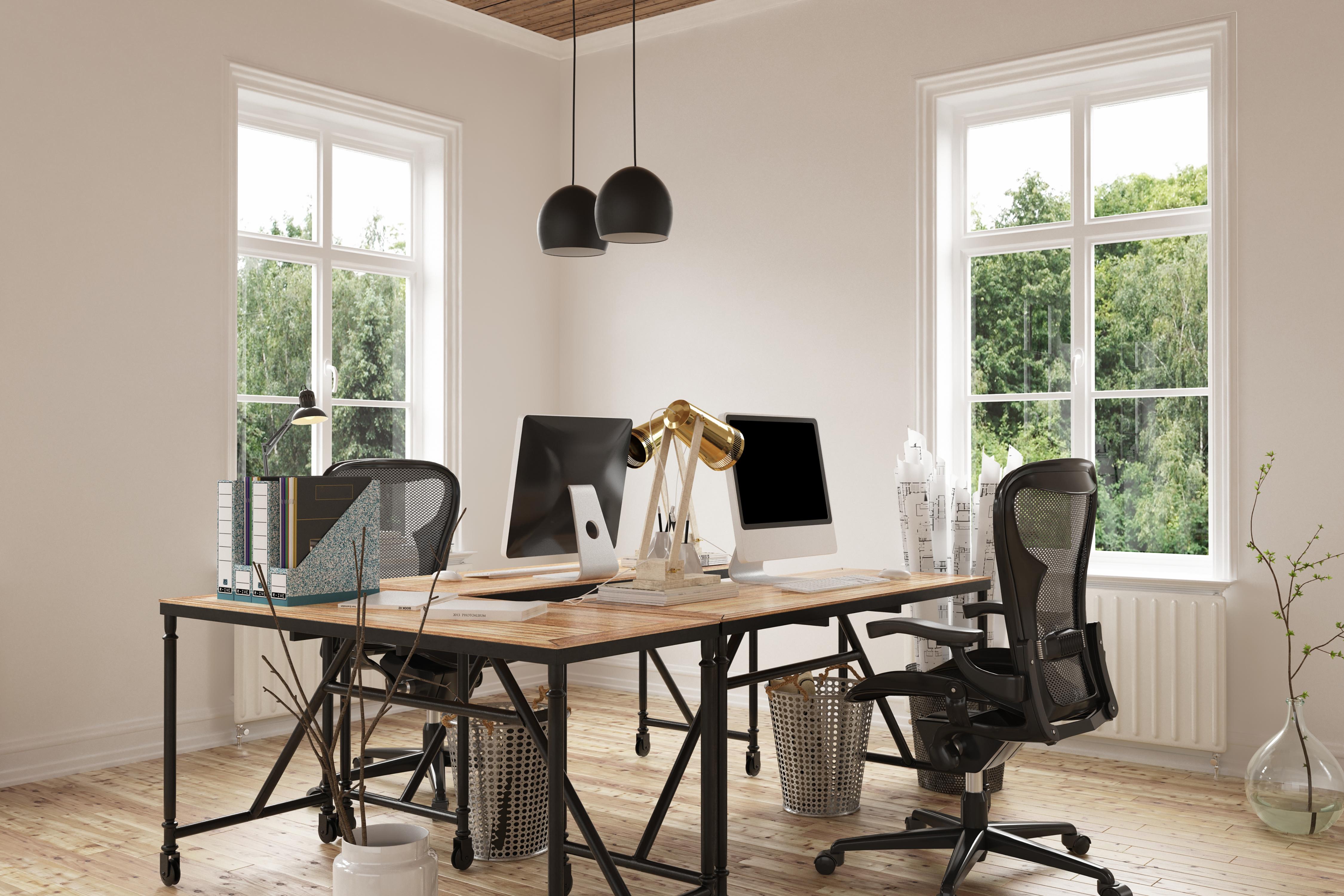 Decoraci n de oficinas modernas 6 elementos for Decoracion para oficina