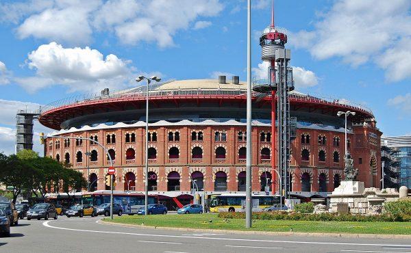 Imagen del centro comercial de las arenas de Barcelona, uno de los ejemplos de arquitectura de centros comerciales en españa