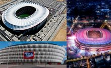 imagen destacada del artículo sobre arquitectura contemporánea y fútbol