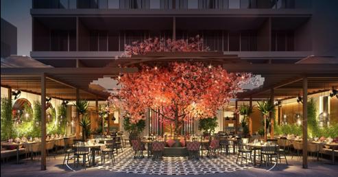 Restaurante del hotel IKOS Andalusia donde particpa la serie BJC MEGA