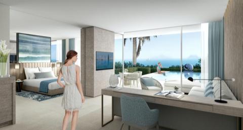 imagen de una de las habitaciones del hotel IKOS Andalusia